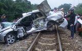 Xót thương hai lãnh đạo công an huyện bị tàu hỏa đâm chết