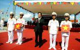 Lễ thượng cờ cấp quốc gia cho 2 tàu ngầm HQ-182 và HQ-183