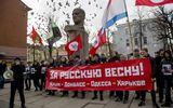 Người biểu tình chiếm trụ sở chính quyền ở đông Ukraina