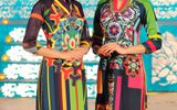 Ngọc Hân ra mắt BST áo dài Hàn Quốc tại Festival Huế