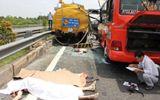 Ảnh: Hiện trường vụ tai nạn thảm khốc trên cao tốc Trung Lương