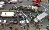 Tàu điện ngầm bị trật bánh ở New York, 1.000 người mắc kẹt