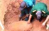 Quảng Ngãi: Phát hiện quả bom nặng 500kg trong nhà dân