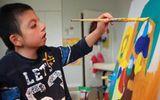 Cậu bé tự kỷ mở triển lãm tranh ở Hà Nội