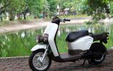 Cận cảnh xe ga phong cách lạ Honda Benly 110 tại Hà Nội