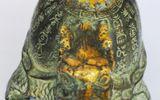 Phát hiện rùa đồng cổ mạ vàng quý hiếm ở... tiệm cầm đồ