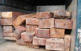 Bắt giữ xe ô tô tải chở 23 hộp gỗ không rõ nguồn gốc