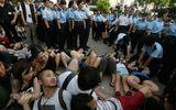 500 người Hồng Kông biểu tình phản đối Trung Quốc bị bắt