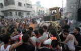 Israel tiếp tục không kích Dải Gaza, hàng trăm người thiệt mạng