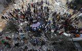 Chùm ảnh Gaza hoang tàn vì Israel tấn công trên bộ