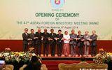 Khai mạc Hội nghị Bộ trưởng ngoại giao ASEAN lần thứ 47