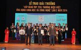 """Công ty Yến sào Khánh Hòa đoạt """"Cúp vàng Top ten Thương hiệu Việt"""