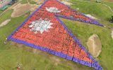 35.000 người Nepal ghép hình quốc kỳ lớn nhất thế giới