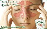 Bài thuốc trị khỏi viêm xoang, viêm mũi xoang trong 3 tuần