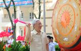 Tổng Bí thư Nguyễn Phú Trọng về dự khai giảng tại trường cũ