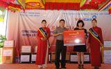 Học sinh Đại Trạch nhận trường mới nhân dịp khai giảng