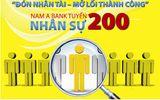 Nam A Bank tuyển 200 nhân sự tại nhiều tỉnh thành