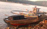 Cháy tàu câu mực ở Nghệ An: Nạn nhân mất tích đã được tìm thấy