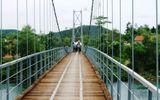 Sửa chữa xong 9 cây cầu treo xuống cấp nghiêm trọng