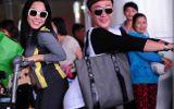 Trấn Thành, Việt Hương tạo dáng khó đỡ ở sân bay
