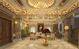 Hé lộ nội thất xa hoa trong lâu đài gà vàng của đại gia Hà Nội