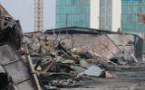 Chùm ảnh: Khu vực gần Keangnam hoang tàn sau vụ cháy lớn