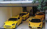 Đại gia bí ẩn và bộ sưu tập siêu xe toàn màu vàng