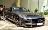 Ngắm siêu xe Mercedes Benz SLS AMG 14 tỷ của nhà chồng Hà Tăng