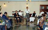 Thủ tướng Nguyễn Tấn Dũng gặp Thủ hiến bang Bihar (Ấn Độ)