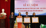 Lào Cai: Tuyên dương nhà giáo tiêu biểu năm 2014