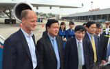 Bộ trưởng Đinh La Thăng bay trình diễn cùng máy bay A350 XWB
