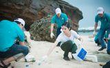 Ngọc Hân kêu gọi bảo vệ môi trường biển đảo tại Lý Sơn