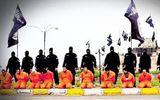 IS tung loạt ảnh công khai hành quyết 13 chiến binh dòng Sunni tại Iraq