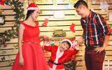 Gia đình Thanh Thúy hạnh phúc đêm Noel