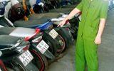 """Phá đường dây trộm xe máy liên tỉnh với """"thành tích"""" 3.500 vụ"""