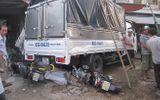 Xe container đâm liên hoàn, 3 người bị thương nặng