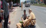 """Truy bắt 2 """"đạo tặc"""" cướp xe SH trên đại lộ Phạm Văn Đồng"""
