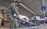 Đề xuất tịch thu xe cải tiến kéo, xe ba gác thương binh giả
