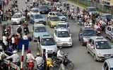"""Hà Nội """"ngạt thở"""" với 3.000 taxi ngoại tỉnh"""
