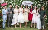 Dàn người đẹp đến mừng Hoa hậu Ngọc Hân khai trương showroom thời trang