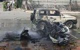 Hiện trường vụ nổ taxi kinh hoàng khiến 2 người tử vong