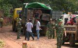 Bắt đoàn xe tải của nhóm lâm tặc không sợ tiếng súng