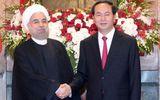 Tổng thống Iran kết thúc chuyến thăm Việt Nam