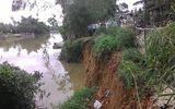 Thừa Thiên – Huế: Sạt lở nghiêm trọng bờ sông Bồ, đe dọa gần 100 hộ dân