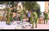 Tiến hành tiêu huỷ nhiều mặt hàng nhập lậu ở Hà Tĩnh