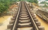 Đường sắt Bắc - Nam tiếp tục phong tỏa sửa chữa vì mưa lũ miền Trung