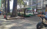 Va chạm giao thông, tài xế xe bus đâm người trọng thương