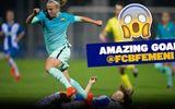 Sao nữ Barca solo ghi bàn từ sân nhà như Maradona