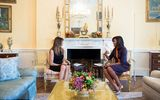 Bà Melania Trump gặp Đệ nhất phu nhân Michelle Obama tại Nhà Trắng