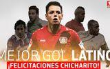 Chicharito được bình chọn